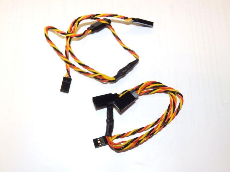 2 Stück 30 cm Y-Kabel AWG 22 Graupner Futaba passend AWG 22, 3,00 ...