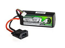 Turnigy Nano-Tech 1400 mAh 3 S 30C LiPo Pack W/ Flat Connector